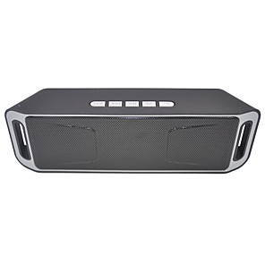 cheap Portable Speakers-SC208 Mini Bluetooth Speaker Portable Wireless Speakers Stereo Music Surround for Mobile