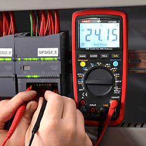 cheap Smartwatches-UNI-T UT139C True RMS Digital Multimeter Auto Range Tester 6000 Counts Voltmeter Resistance Tester Temperature Test Transistor