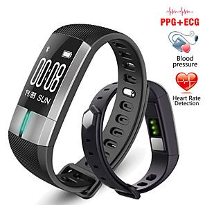 cheap Smartwatches-G20 PLUS Smart Bracelet ECG Heart Rate Blood Pressure Waterproof Meter Running Up Hand For Changing Screen ECG PPG