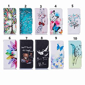 cheap Other Phone Case-Case For Nokia 4.2/Nokia 3.2 Magnetic / Flip / with Stand Full Body Cases Tree / Flower / Butterfly Hard PU Leather for Nokia 1 Plus/Nokia 2/Nokia 2.1/Nokia 3.1/Nokia 5.1/Nokia 7.1/Nokia 8/Nokia 6