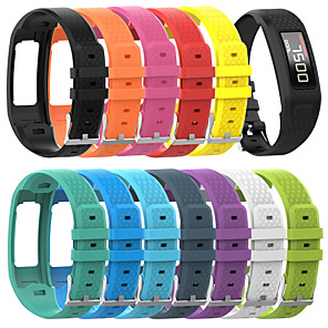 cheap Smartwatch Bands-Large Size Silicone Wrist Strap Replacement Watch Band for Garmin Vivofit 1/2