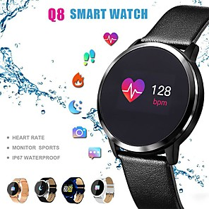 cheap Others-Q8 Smart Watch BT Fitness Tracker Support Notify/ Heart Rate Monitor Sport Bluetooth Smartwatch Compatible IOS/Android Phones