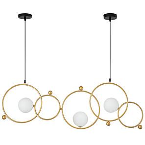 cheap Cluster Design-ZHISHU 3-Light 102 cm New Design / WIFI Control Chandelier Metal Glass Sputnik / Industrial Painted Finishes Contemporary / Chic & Modern 110-120V / 220-240V