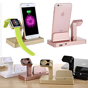 cheap Wireless Chargers-Dock Charger Watch Phone Charging Stand ABS