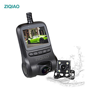 cheap Car DVR-ZIQIAO RS400 4K Ultra HD Car Dash Cam Dvr with Display Novatek 96658 WiFi Night Vision Dash Camera Video Recorder