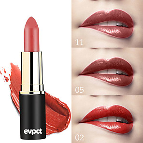cheap Eyeshadows-Brand Evpct 12 Color New Sexy Long Lasting Matte Waterproof Lipstick Lipstick