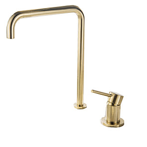 cheap Bathroom Sink Faucets-Retro Vintage Classic Bathroom Sink Faucet - Standard Multi-Ply Other Single Handle Two HolesBath Taps