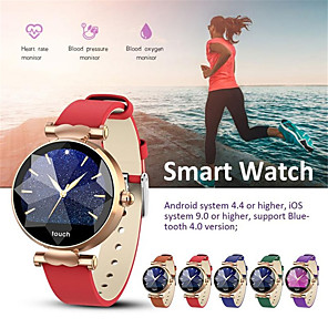 cheap Smartwatches-Smartwatch Digital Modern Style Sporty Silicone 30 m Water Resistant / Waterproof Heart Rate Monitor Bluetooth Digital Casual Outdoor - Golden Purple Silver
