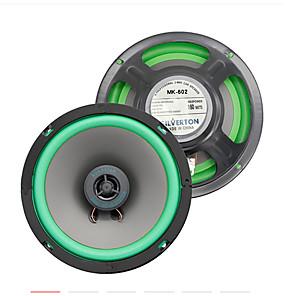 cheap Car Audio-1pcs mk602 Car Audio speakers Car Audio 5.1 universal Vehicle loudspeaker modification 4 inch coaxial horn