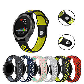 cheap Smartwatch Bands-Watch Band for Forerunner 245M / Forerunner 645 / Vivoactive HR Garmin Modern Buckle / Sport Band Silicone Wrist Strap
