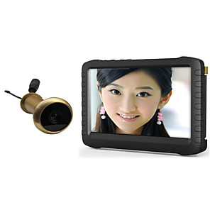 cheap Video Door Phone Systems-Factory OEM Wireless 5 inch Hands-free One to One video doorphone