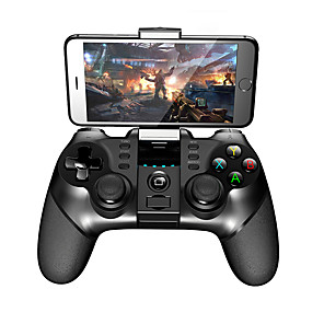 cheap Smartphone Game Accessories-IPEGA 9077 Game Controller Joystick Bluetooth Wireless Controller Rechargeable Bluetooth Game Controller Gamepad for Smartphone Android/ iOS