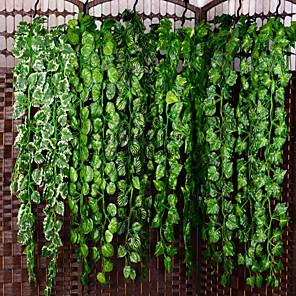 cheap Christmas Decorations-Artificial Plants Plastic Party / Evening Vine Wall Flower Vine 1
