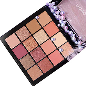 cheap Eyeshadows-16 Colors Eyeshadow Matte EyeShadow Pro Easy to Use Professional Daily Makeup Cosmetic Gift