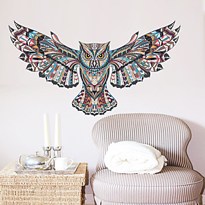 cheap Wall Stickers-Decorative Wall Stickers - Animal Wall Stickers Animals Living Room / Bedroom / Kitchen / Re-Positionable