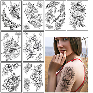 cheap Tattoo Stickers-3 pcs Temporary Tattoos Water Resistant / Best Quality Shoulder / Chest Tattoo Stickers