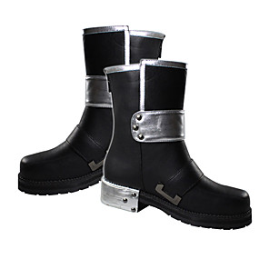 povoljno Anime kostimi-Cosplay Boots SAO Alicizacija Kirito Anime Cosplay Shoes PU koža Muškarci Halloween kostime