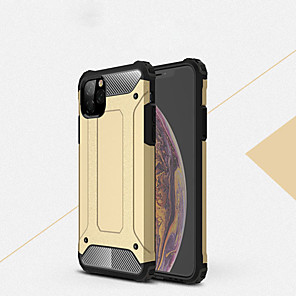 cheap iPhone Cases-Case For Apple iPhone 6s / iPhone XS Max Shockproof Back Cover Solid Colored Hard PC for iPhone SE / 5s / iPhone 6s / iPhone 6s Plus