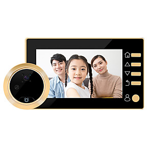 cheap Video Door Phone Systems-Factory OEM Wireless 4.3 inch Hands-free One to One video doorphone