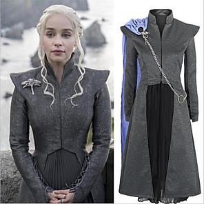 povoljno Anime kostimi-Inspirirana Igra prijestolja Dragon Mother Daenerys Targaryen Anime Cosplay nošnje Japanski Cosplay Suits Opremiti Za Žene
