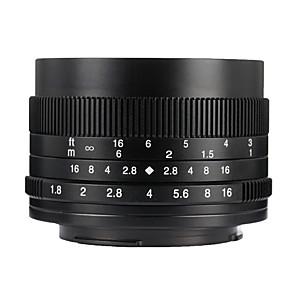 cheap Lenses-7Artisans Camera Lens 7Artisans 50mmF1.8EOSM-BforCamera