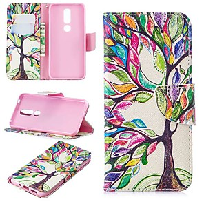 cheap Other Phone Case-Case For Nokia 4.2/Nokia 3.2 Magnetic / Flip / with Stand Full Body Cases Tree Hard PU Leather for Nokia 1 Plus/Nokia 2/Nokia 2.1/Nokia 3.1/Nokia 5.1/Nokia 7.1/Nokia 8/Nokia 6