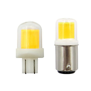 cheap LED Spot Lights-5pcs 5 W LED Spotlight Car Lights 300 lm T10 BA15D 1 LED Beads COB Warm White White 12 V