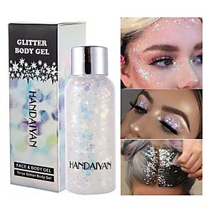 cheap Eyeshadows-Eye Face Sequins Body Milk Eye Shadow Bright Flash Cream Polarized Stage Makeup