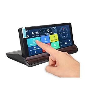 economico Lettori DVD per auto-condividi to7 pollici hd auto dvr gps doppia lente di navigazione vista posteriore videocamera registratore dash 3g wifi