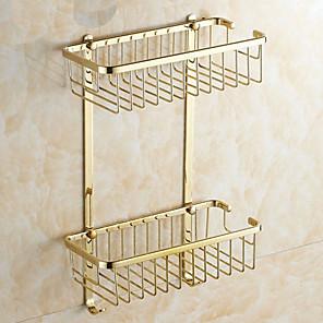 cheap Bathroom Gadgets-Bathroom Shelf Creative Modern Brass 1pc - Bathroom Wall Mounted