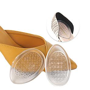 cheap Women's Sandals-1 Pair Shock Absorption / Wearable Insole & Inserts PEVA Heel All Seasons Women's Clear
