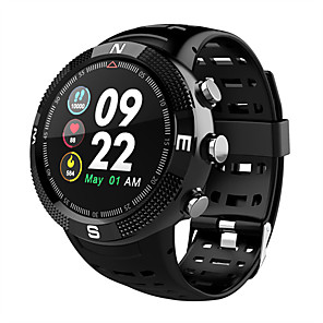 cheap Smartwatches-F18 Smart watch outdoor GPS positioning IP68 waterproof blood pressure heart rate monitoring fitness tracker watch call reminder