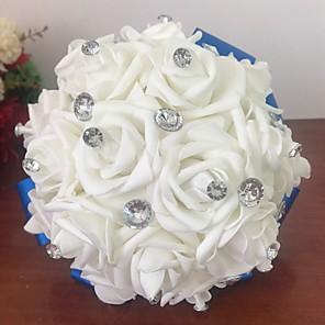 cheap Wedding Flowers-Wedding Flowers Bouquets Wedding / Wedding Party Foam 21-30 cm