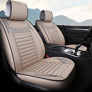 cheap Car DVR-Car seat cover business breathable buckwheat linen four-season car seat cushion general seat cushion/five seats/general motors seat cover