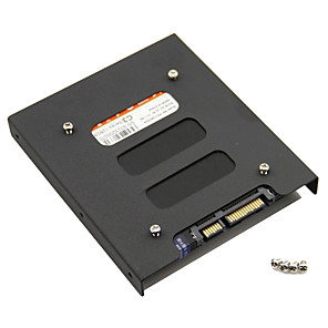 cheap Hard Drive Enclosures-2.5 Inch SSD HDD To 3.5 Inch Metal Mounting Adapter Bracket