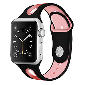 cheap Smartwatch Bands-Watch Band for Apple Watch Series 5/4/3/2/1 Apple Sport Band Silicone Wrist Strap