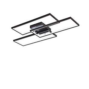 cheap Dimmable Ceiling Lights-3-Light 59 cm LED Flush Mount Lights Metal Linear Painted Finishes Contemporary / LED 110-120V / 220-240V