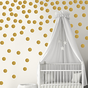 cheap Wall Stickers-3D Wall Stickers Plane Wall Stickers Decorative Wall Stickers, PVC Home Decoration Wall Decal Wall Decoration 1pc / Removable