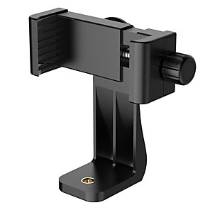 cheap iPhone Cases-Mobile Phone Tripod Mount Adapter Bracket Smartphone Clamp Holder for iPhone Samsung 360° Rotation