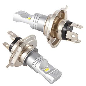 cheap Car Headlights-2pcs Car H4 led hi/lo with CSP chip 6SMD drl LED Fog Lamp Daytime Running Light Turning Bulb High Low Beam Headlight 12V