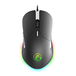 cheap Gaming Headsets-IMICE X6 High Configuration USB Wired Gaming Mouse Computer Gamer 6400 DPI Optical Mice for Laptop PC Game Mouse