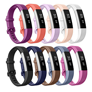 cheap Smartwatch Bands-Watch Band for Fitbit Alta HR / Fitbit Ace / Fitbit Alta Fitbit Sport Band / Classic Buckle / Modern Buckle Silicone Wrist Strap