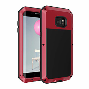 cheap Samsung Case-Case For Samsung Galaxy S7 edge Dustproof / Backup Back Cover Solid Colored Soft TPU