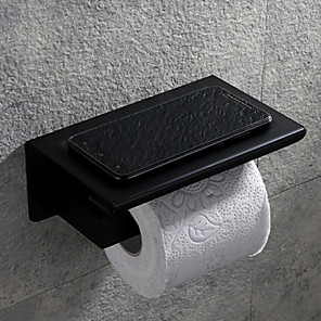 cheap Bathroom Accessory Set-Toilet Paper Holder Creative Contemporary Stainless Steel 1pc - Bathroom Wall Mounted