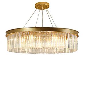 cheap Globe Design-QIHengZhaoMing 6-Light 55 cm Crystal Chandelier Metal Crystal Painted Finishes Chic & Modern 110-120V / 220-240V