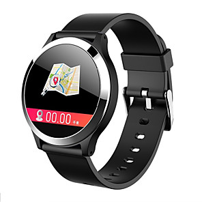 cheap Smartwatches-B65 ECGPPG Smart Watch 1.22inch IPS Blood Pressure Heart Rate IP67 Waterproof Real-time Message Reminder Smartwatch Wristband