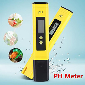 cheap Testers & Detectors-Portable LCD Digital PH Meter Tester Tool Wine Water Pool Aquarium Pen PH
