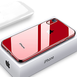 cheap iPhone Cases-Ultra Thin Transparent Phone Case For iPhone XS MAX XR XS X 8 Plus 8 7 Plus 7 6 Plus 6 Plating Soft TPU Silicone Full Cover Shockproof
