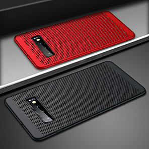 cheap Smartphones-Ultra Slim Phone Case For Samsung Galaxy S10 Plus S10e S10 Hollow Heat Dissipation Cases Hard PC For Samsung S9 Plus S9 S8 Plus S8 S7 Edge S7 Back Cover Coque S10 Plus