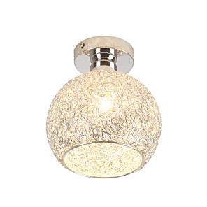 cheap Ceiling Lights-1-Light 18 cm Mini Style / Lovely Flush Mount Lights Metal Drum / Lantern Chrome Artistic / Modern 110-120V / 220-240V